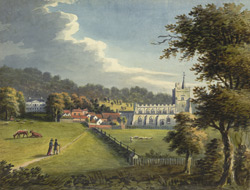 View of Tring Church and Tring Park, Hertfordshire